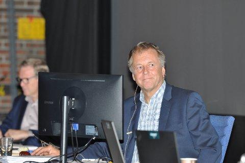 VOKSER: Saxe Frøshaug er ordfører i en sterkt voksende kommune.
