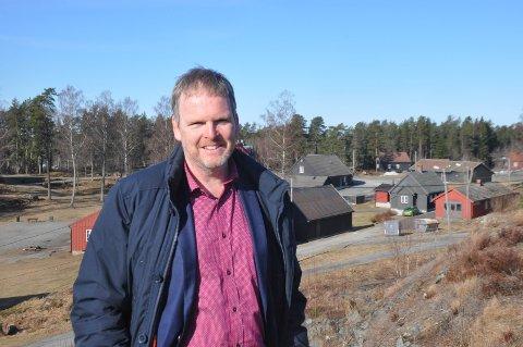 Rådmann Georg N. Smedhus mener Høytorp fort og fortet i Trøgstad har et stort potensiale for verdiskapning.