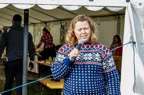 Katharina Kirkerød fra Askim er en av dem som søker på stillingen som ny Nav-leder i Skiptvet og Marker. Dette bilde er fra 2017 i forbindelse med oktoberfest i Spydeberg.