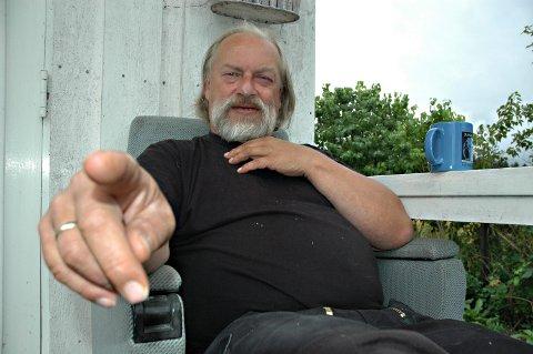 Kulturpersonlighet: Gudmund Groven (75) døde 12. mai. Han etterlater seg kona  Kristin Lyhmann. Sammen har de fire barn.