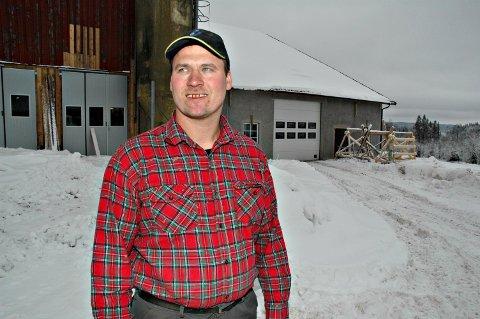 Jens Håkon Bjerke er bonde og lokalpolitiker. ARKIV
