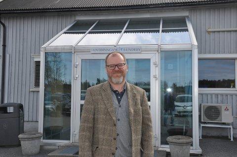 Helge Gabriel Lundeby er daglig leder i Lundeby Gruppen.