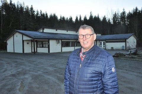 David Koht-Norbye søker formannskapet i kommunen om støtte til Kirkeby Grendehus.