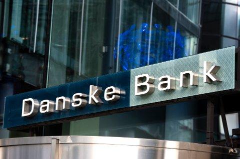 Oslo 20200705.  Illustrasjonsbilde av logoen til Danske Bank. Foto: Annika Byrde / NTB