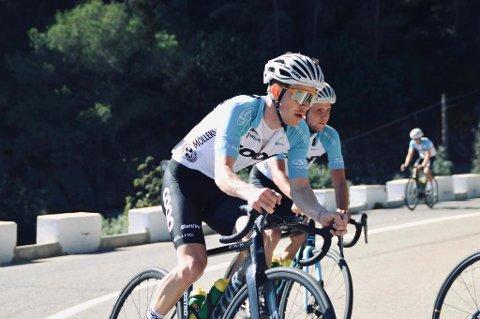 DEBUT: Etter å ha levert sterke prestasjoner for Team Coop denne sommeren fikk Kristian Aasvold sykle fellesstart i elite-EM i helga.