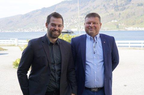 Torbjørn Vereide og Arve Helle Fylkestingskandidatar for Vestland Arbeidarparti