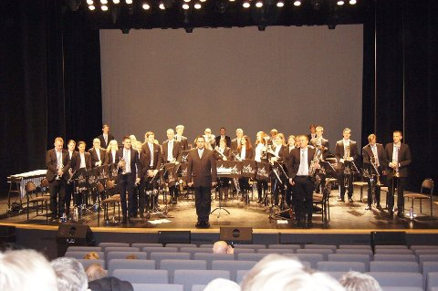Sola Brassband hevdet seg under NM i Bergen tidligere i februar.