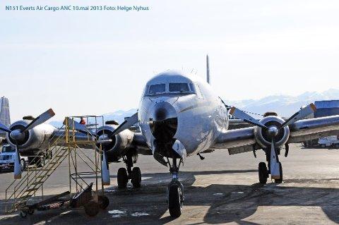 Dette flyet går nå i trafikk i Alaska, men er opprinnelig en Braathens-maskin. Til sommeren kommer flyet til Sola.