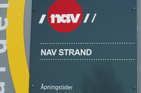 NAV: Tall fra NAV viser at arbeidsledigheten i Strand går ned.