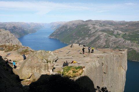 Her vil Hjelmeland ikkje ha nasjonalpark. (Arkivfoto: Roar Larsen)