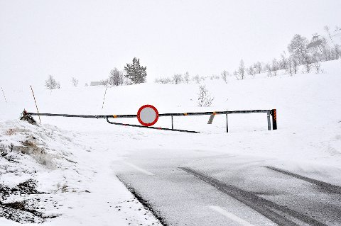 Vegen over Lyngsheia fram til Songesand har ofte vært stengt i vinter. Innbyggerne i grenda ved Lysefjorden føler de blir nedprioritert. (Foto: Magnar Riveland)