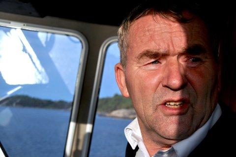 Jon Arne Helgøy er van med å leva i uvisse når det gjeld kontraktar med det offentlege, men fryktar ikkje kutt dei første tre-fire åra.