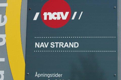I januar auka arbeidsløysa i Strand, viser ferske tal frå Nav.