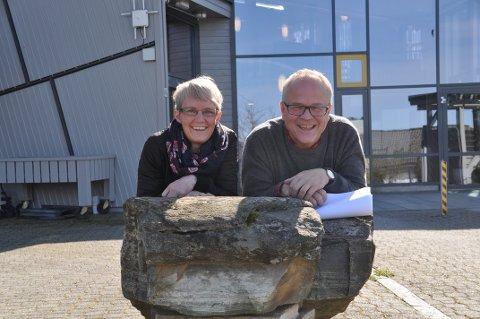 Camilla Flem og Åsmund Sigmundstad planlegg eit nytt tilbod for heimebuande eldre. Dei treng di hjelp.