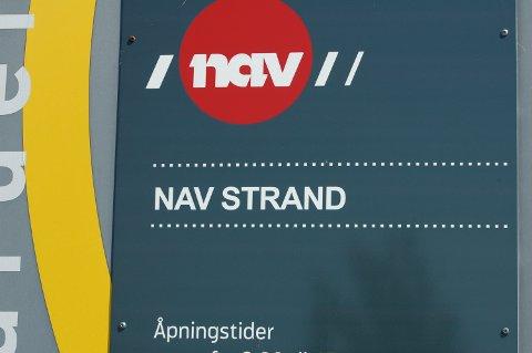NAV: Strand har ei bruttoarbeidsløyse på nær 9 prosent.