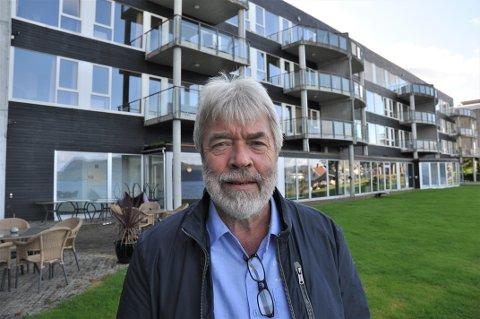 KASTA INN HANDKLEDET: Leif Magne Kleppa og Spa-hotell Velvære møtte i skifteretten tysdag ettermiddag. Hotellet er konkurs.
