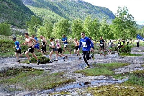 BLIR AVLYST: Viglesdalsløpet skulle blitt arrangert i slutten av juni, men arrangørane valde nyleg å avlysa årets løp.