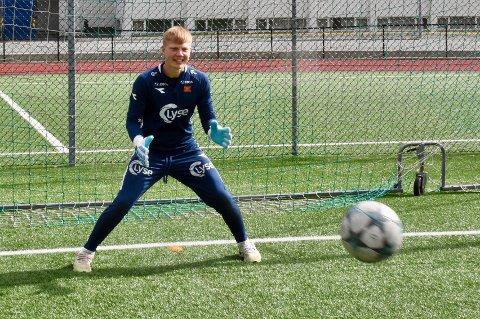VIKING: Trym Sølvberg Ur fra Tau har vært i Viking sin eliteserietropp denne sesongen, da Vikings andrekeeper har vært skadet.