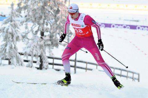 ER I RUTE: Isak Stianson Pedersen er godt i gang med oppkjøringen til en vinter hvor verdensmesterskapet i Oberstdorf er det store målet i år.