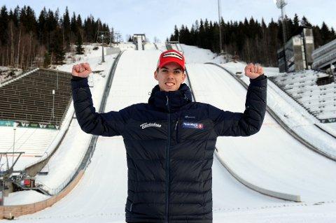 I TOPPEN: Fjerde- og sjetteplass ble det på Jonas Viken i de to norgescuprennene på Lillehammer i helga.
