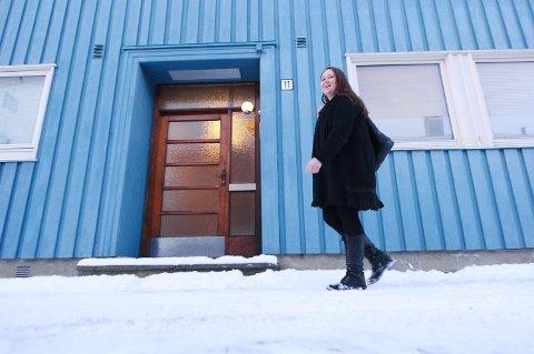 LEDER: Grerte Folden har også en bakgrunn som varaordfører for Senterpartiet  i Steinkjer kommune.