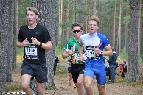 Jørgen og Alv fulgte hverandre som skygger under hele løpet.