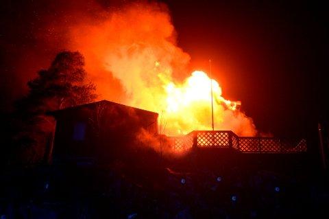 Illustrasjon: En brann kan gjøre stor skade. Derfor er det viktig å dokumentere det man eier.
