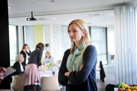 Inga Marte Thorkildsen mener sosiale medier har gjort det tøffere å være ungdom. Foto: Anne Charlotte Schjøll