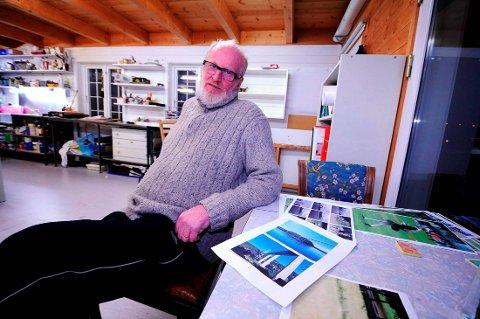 PROVOSERT: – Som leder av en av våre profesjonelle institusjoner og styremedlem i Billedkunstnere i Telemark føler jeg meg provosert når amatørene stadig får spalte opp og spalte ned i lokalpressen, sier Hans Georg Andersen.