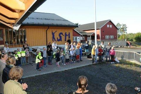 FLERE: Dette skoleåret er det 45 elever på den private skolen på Skåtøy. Fra høsten av kan elevtallet potensielt økes til 75. FOTO: ESPEN SOLBERG NILSEN