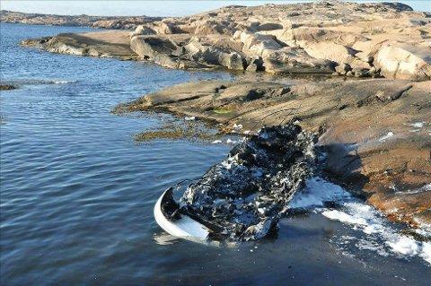 343 båter ble flammenes rov i 2014. (Foto: Tryg Forsikring/ANB)
