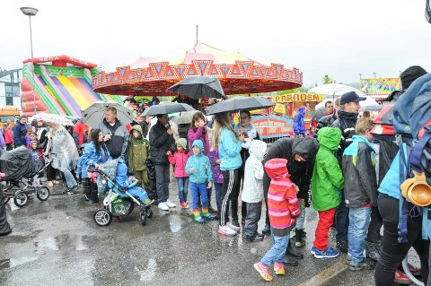 KAMMERHERRELØKKA: Like ved rådhusparken ligger Kammerherreløkka, der tivoliet har hatt fast plass i flere år. I mai blir det ingen  karusell-kø på plassen.