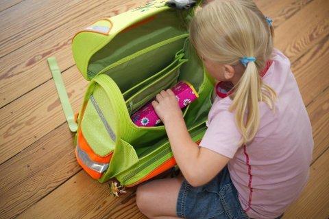 Foreldre bruker mye penger på barnas skolestart. (Foto: Jan Haas, NTB scanpix/ANB)