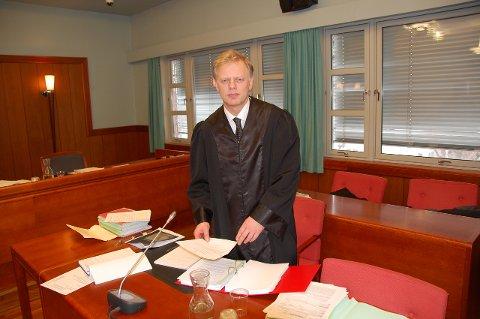 AKTOR: Politiadvokat Gunstein Bjørgum var aktor i saken mot 35-åringen. Bildet er fra en annen rettssak.