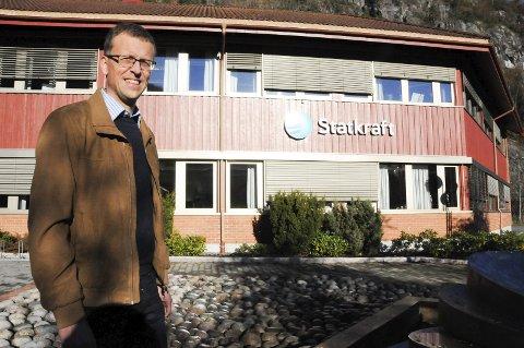 Protest: Ordfører i Tokke, Jarand Felland mener deler av Telemark vil bli en utkant i en ny sammenslått fylkeskommune.