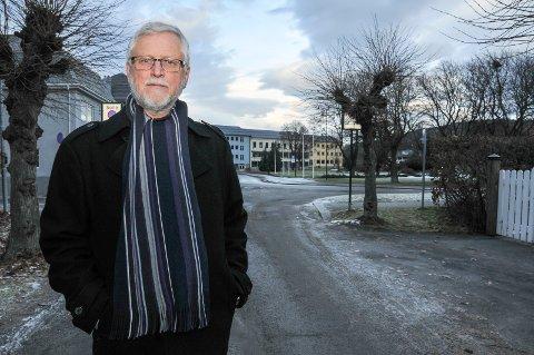 FORSVARER: Advokat Borgar Veiding på Notodden forsvarer den drapssiktede 22-åringen.