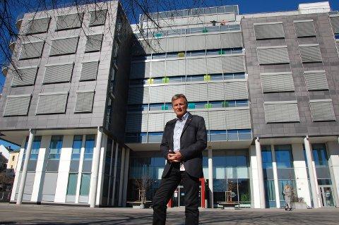 ØKER: Nav-sjefen i Telemark, Terje Tønnessen, opplyser om at sykefraværet øker.