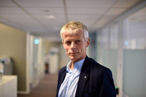 IKKE ALLE FÅR: 530.000 lønnstakere og pensjonister får restskatt, forteller skattedirektør Hans Christian Holte. Foto: Tommy H.S. Brakstad