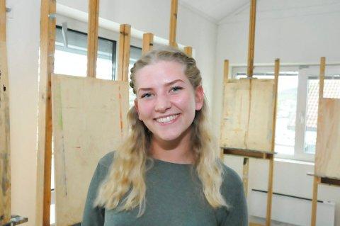 Vant: Matilde Wedzicha (19) vant et gratis studieår og gleder seg stort til å komme i gang. (Foto: Per Eckholdt)