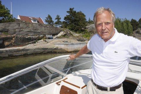 Lars Sundlings boblebad ble stjålet fra hytta på Schweigaardsholmen mellom påske og slutten av mai for to år siden.