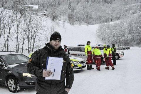 VIL TAKKE: Foreldrene til vennen til den døde britiske klatreren har bedt Robert Strand i Rjukanpolitiet takke lokalsamfunnet for hjelpen.