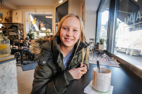 BLE TATT UT: Evelyn Josefin Slåtta er tatt ut på elitejuniorlaget i Cheerleading.