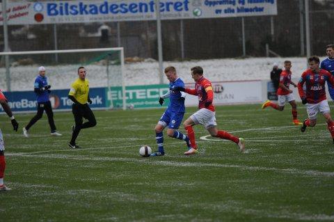 TAP: Pors og Sondre Lindgren Larsen tapte 0-3 for Fram Larvik lørdag ettermiddag.