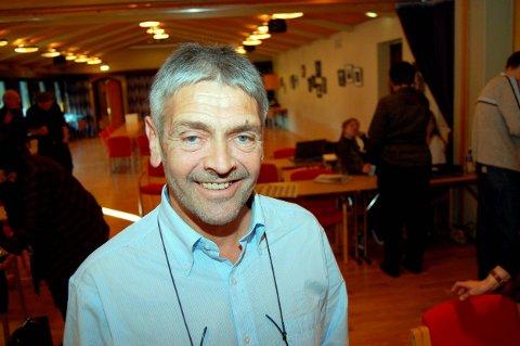 DEN SISTE: Sigbjørn Molvik var den siste stortingsrepresentanten fra SV i Telemark, han satt i perioden 2001–2005.