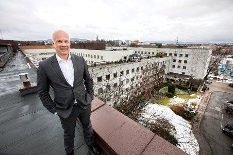 NRK-sjef Thor Gjermund Eriksen er fornøyd med den nye avtalen. (Foto: Gorm Kallestad, NTB scanpix/ANB)