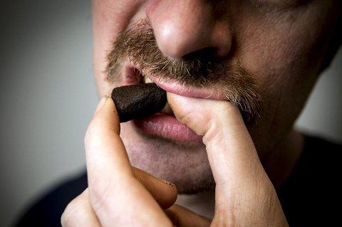 Bruk av snus fører ikke til kreft, viser en ny studie fra Karolinska Institutet i Sverige. (Foto: Erlend Aas, NTB scanpix/ANB)