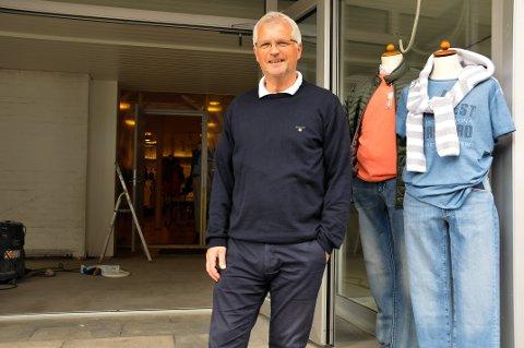 35cda1f2 UTVIDER: Nå blir Erik Skaus klesbutikk enda større. Torsdag er det nyåpning.