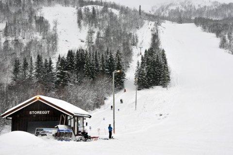KONKURS: Raulandsfjell alpinsenter har slått seg selv konkurs. Gjelden i selskapet er på 1,5 millioner kroner. Foto: ALEXANDER LEHMANN