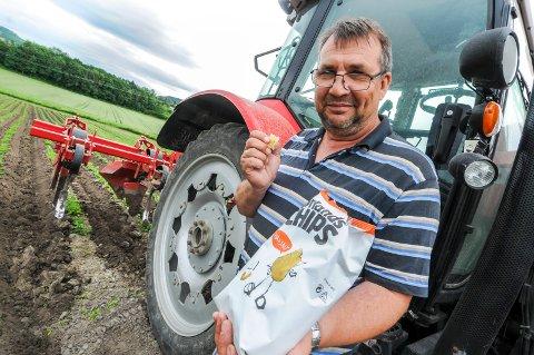 KVALITET: Min far og gården vår har lært leverandør i over 20 år, så de er vel fornøyd med oss da, smiler Ivar Gulseth, og legger til at alt handler om kvalitet.