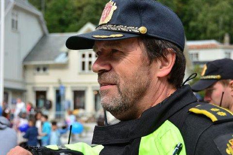 TRAFIKKOORDINATOR: Dag Thomassen har nettopp overtatt trafikkkoordinator-ansvaret for det nye politidistriktet Sør-Øst. Ett av ansvarsområdene er ATK-er. Foto: Politiet